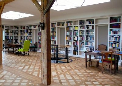 Bibliothek | © Schreinerei Francesco Carbone