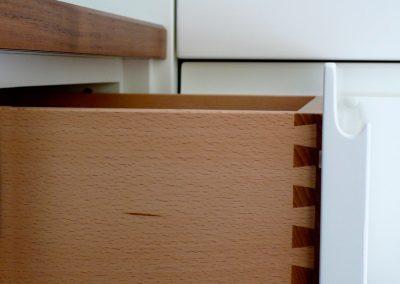 Gezinkte Schubladen | © Schreinerei Carbone