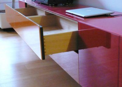 Sideboard, Schubladen | © Schreinerei Carbone